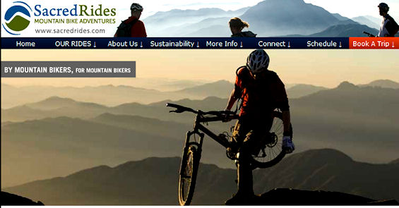 Sacred Rides Mountain Biking Tours
