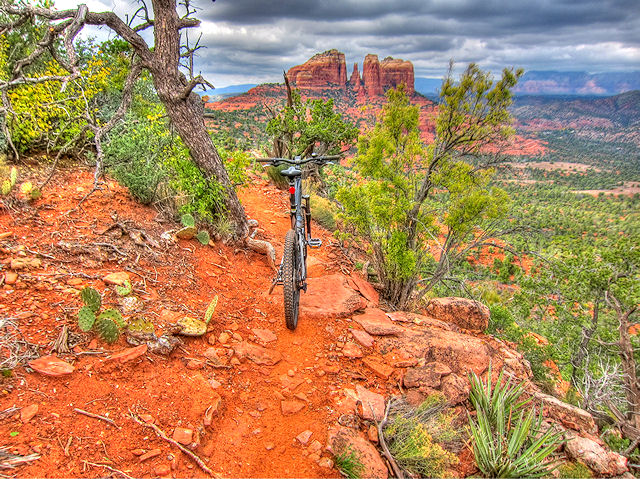 The Highline Trail in Sedona