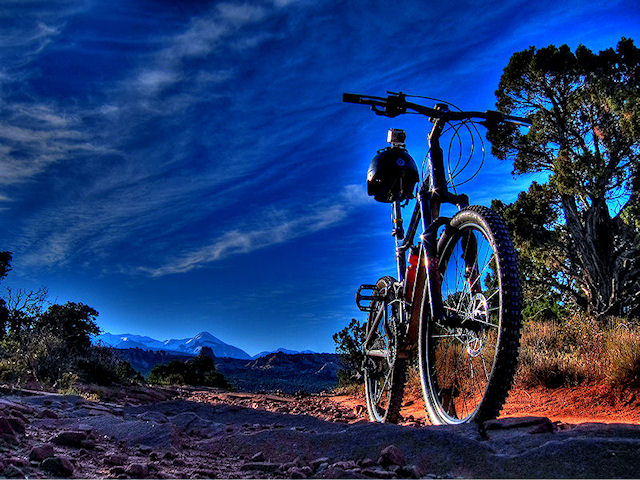 Porcupine Rim Trail Moab