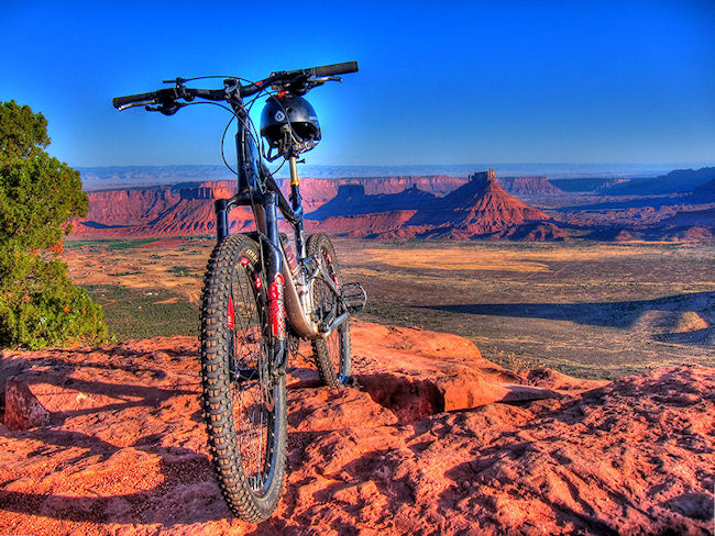 Porcupine Rim Trail Moab 2011
